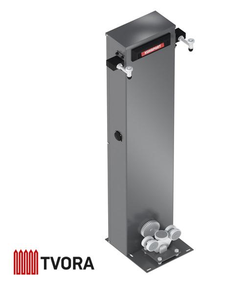 столб с интегрированой автоматикой ворот