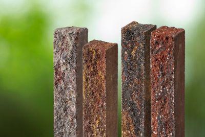 Бетонные элементы с гранитным щебнем