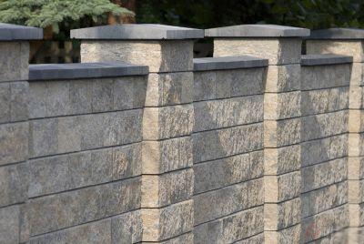 Betona žogu elementus