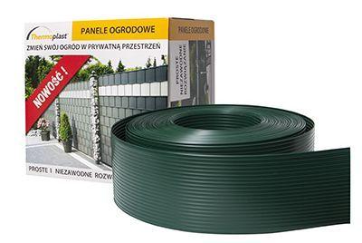 95mm zaļa žoga lamiles PP