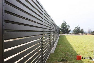 Skārda žogi Rombas 4D