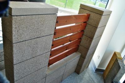 Žoga betona bloki