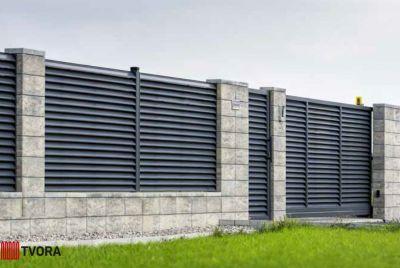 Žaluziju žogi Aluzinc un betona bloki